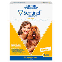 Sentinel Medium Dog 11-22kg (6 Pack)
