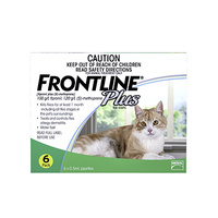Frontline Plus Cat (6 Pack)