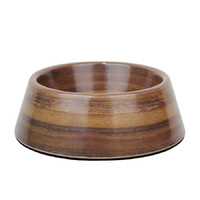 Barkley & Bella Acacia Wood Bowl