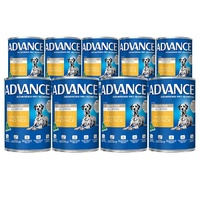 Advance Can Dog Sensitive 410g 9 Pack
