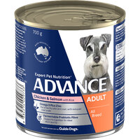 Advance Can Dog Chicken & Salmon 700g