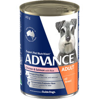 Advance Can Dog Chicken & Salmon 400g