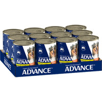 Advance Can Dog Casserole Chicken 400g Slab