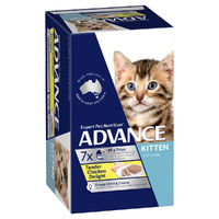 Advance Can Kitten 85g 7 Pack