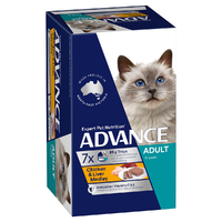 Advance Can Cat Chicken & Liver 85g 7 Pack