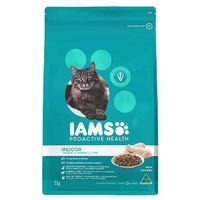 Iams Cat Adult Indoor Weight HairBall 3kg
