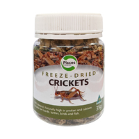 Freeze Dried Crickets 35g