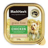 BlackHawk Can Dog Grain Free Chicken 100g