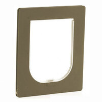 Petway Pet Door for Security Large Bronze