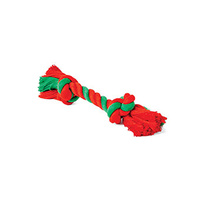 Christmas Rope Knot Bone Small