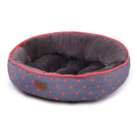 Bed Cushion Funky Polka Orange Med 65x53cm