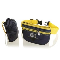Doog Treat Pouch Navy & Yellow Large
