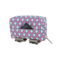 Doog Walkie Pouch Pink &Aqua Drop