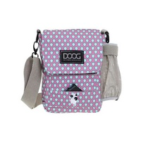 Doog Walkie Shoulder Bag Aqua & Pink Drop