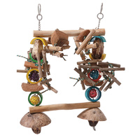 Feathered Friends Garden Totem Parrot Large