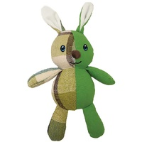 Furry Face CheckMates Plush Rabbit