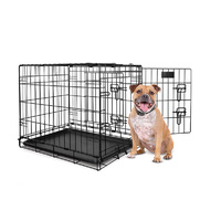 Yours Droolly Double Door Collapsible Crate 30""