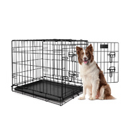 Yours Droolly Double Door Collapsible Crate 36""