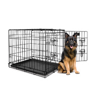 Yours Droolly Double Door Collapsible Crate 48""