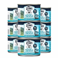 Ziwi Peak Cat Can Mackeral & Lamb 185g 9 Pack