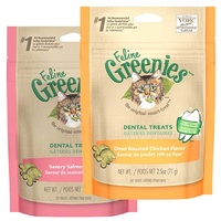 Greenies for Cats Chicken 71g & Salmon 71g