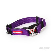 Ezy Dog Double-Up Collar Purple