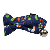 Soapy Moose Cat Collar Llama with Bow